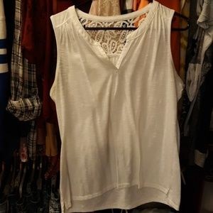 Sonoma Lace back Tank Top